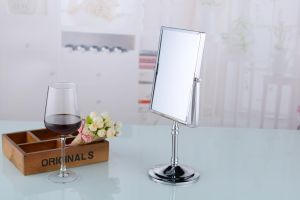 Desktop Stand Makeup Mirror Double Sided Rotatable Compact Mirror pictures & photos