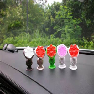 Mobile Cell Phone Accessories Adjustable Silicone Rubber Suckers Car Holder pictures & photos