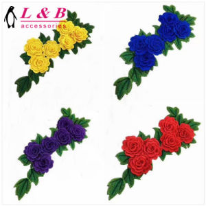 New Design Fashion Embroidery Suit Flower Patch pictures & photos
