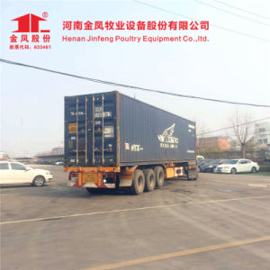 Jinfeng Poultry Farming Equipment Broiler Cage 3/4/5 Tiers pictures & photos