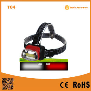 T04 COB High Power Headlight ABS Material LED Headlight 1W LED Headlamp pictures & photos