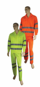 Popular Safety Workwear/Overall with Reflective Tape (DFW1001) pictures & photos