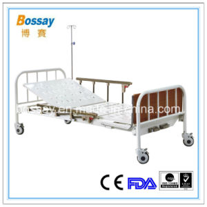 Manual Bed for The Patient Medical Hospital Bed pictures & photos