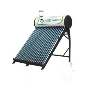 Evacuate Tube Direct Solar Water Heater for Domestic Home Use pictures & photos