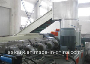 Waste Plastic Pppe Film Compactor Pelletizing Machinery pictures & photos