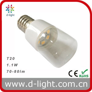 T20 LED Indicator Bulb 1.1W 70lm pictures & photos