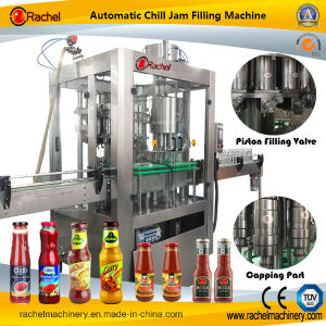 Automatic Salad Dressing Filling Capping Machine pictures & photos