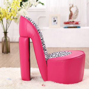 High Heel Children Upholstered Chair pictures & photos