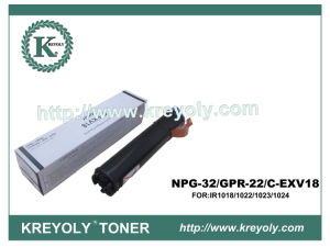 Hot Promotion Black Toner for Canon Gpr-22/Npg-32/C-Evx18 pictures & photos