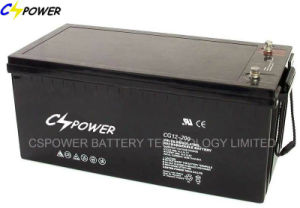 Deep Cycle Battery AGM Lead Acid Battery 12V200ah pictures & photos