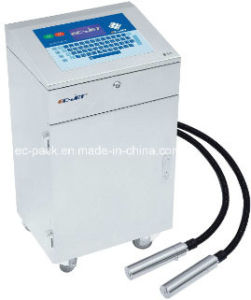 Dual-Head Continuous Ink-Jet Printer for Cookie Can (EC-JET910) pictures & photos