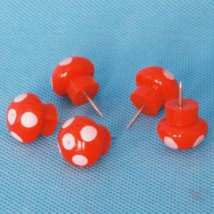 Wholesale Coloured Plastic Mushroom Push Pin (QX-HP015) Decoration pictures & photos