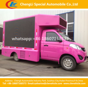 Mini LED Screen Video Billboard Truck pictures & photos