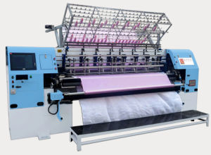High Speed Shuttle Lock Stitch Quilting Machine for Bedspread Quilts Garments Sleeping Bags pictures & photos