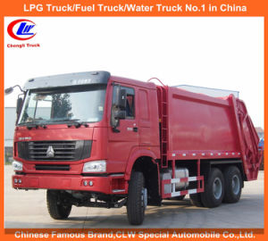 Heavy Duty Sinotruk Sino Truck HOWO Compressed Garbage Trucks 8tons for Sale pictures & photos