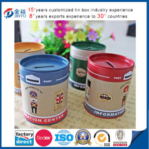 Easy Open Lid Coin Tin Box for Promotion Gift pictures & photos
