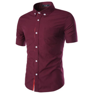 Manufacturer China Wholesale 100% Cotton Knit Dress Shirt (A436) pictures & photos