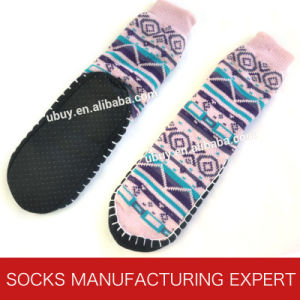 Women′s Anti Slip Home Sock pictures & photos
