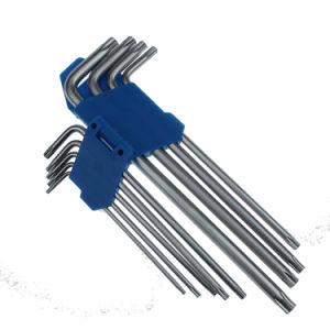 9 PCS Lomg Length Double Head Torx Key Set pictures & photos