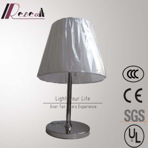 European Hotel Lamp Stainless Steel Rotatable Bedside Table Lamp pictures & photos