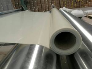7.0MPa 50-60shore a Silicone Rubber Sheet, Silicone Sheet, Silicone Rolls with Red Color pictures & photos
