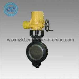 Electrical Wafer Hard-Sealed Butterfly Valve pictures & photos