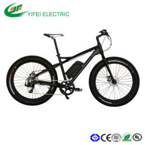 High Speed 500W Fat Tire 4.0 Snow Electric Beach Bicycle pictures & photos