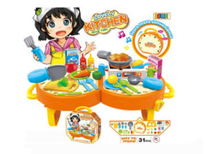 Electric Toy Kitchen Play Set Cooking Toy (H5931063) pictures & photos
