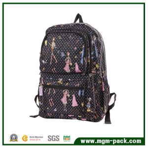 High Quality Fashion Black Canvas Backpack for Promotion pictures & photos