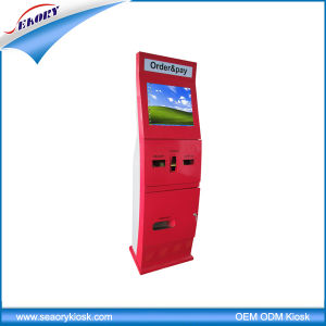 Cash/Coin/Bank Card Payment Kiosk, Bill Payment Kiosk Machine pictures & photos