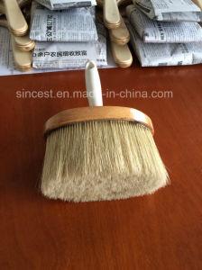 100% Pure Bristle Round Ceiling Brush Used for Painting pictures & photos