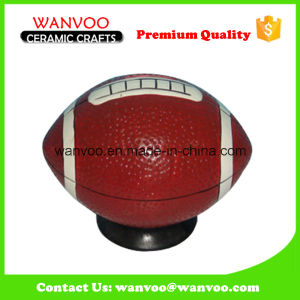 Ceramic Rugby Piggy Bank for Children pictures & photos