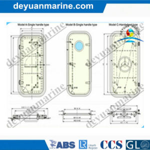 Marine Aluminum Door with Good Offer pictures & photos