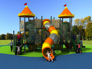 2017 Children Kids Outdoor/Indoor Playground with TUV-GS\Ce\En 1176\SGS\Ohsas18001\ISO9001\ISO14001 Certificate European and Korea Castle pictures & photos