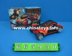 Battery Operated 3D Car Toys with Light and Music (665930) pictures & photos