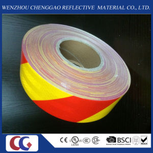 Pet Self Adhesive Stripe Reflective Material Hazard Warning Tape pictures & photos