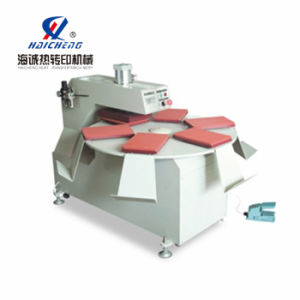 Pneumatic Six Trays Heat Press/Heat Transfer Printing