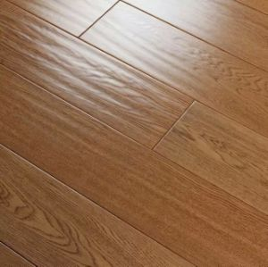 8901# Handscraped Oak Engineered Wood Flooring 15mm