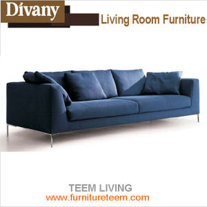 D-71 Living Room Furniture Modern Sofa Stainless Steel Legs Sofa pictures & photos