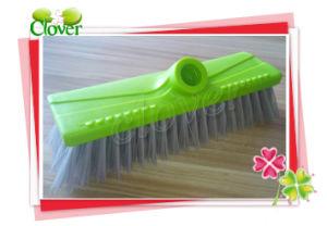 Floor Hard Bristle Push Brush for Cleaning