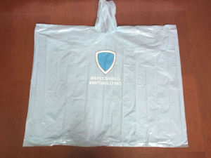 Disposbale PE Rain Poncho for Promotion pictures & photos