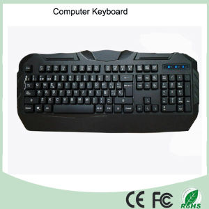 Cool Design Three Colors LED Mechanical Type Gaming Keyboard (KB-1902EL) pictures & photos