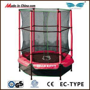 55inch Junior Round Trampoline with Safety Enclosure