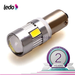 T10 Ba9s 6*5730SMD Canbus LED Car Light Bulb with Lens