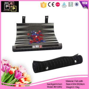 Hello Pink Black Personalized Custom Roll Backgammon pictures & photos