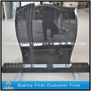 European Style Natural Stone Aurora Granite Memorial Tombstone Monuments pictures & photos