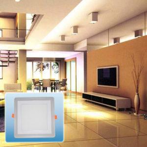 LED Recessed Light/New Design Double Color Square COB Light pictures & photos
