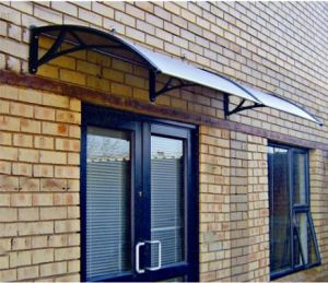 Polycarbonate Decoration Material/Awnings/Canopy /Sunshade/ Canvas for Windows& Doors (V2000A-L) pictures & photos