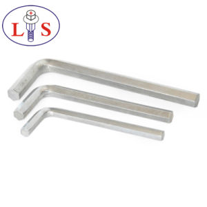 Factory Price Top Quality White Zinc Plated Allen Wrench pictures & photos