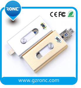 Made in China OEM Logo 16GB OTG USB Flash pictures & photos